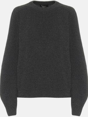 Серый кашемировый свитер Loro Piana