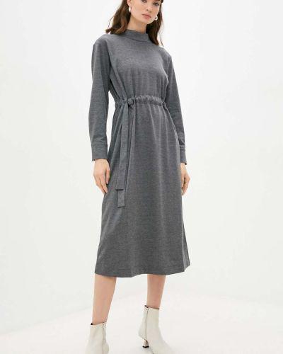 Хлопковое платье - серое Baon
