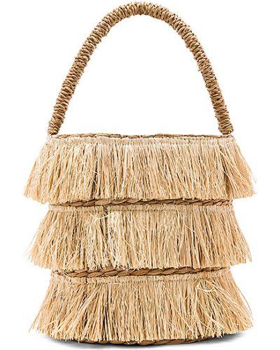 Beżowa torba na ramię Kayu