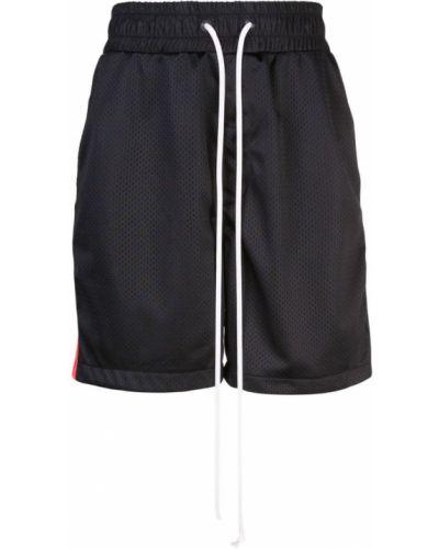 Спортивные шорты черные на молнии Daniel Patrick
