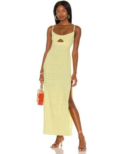 Шелковое платье - желтое Lpa