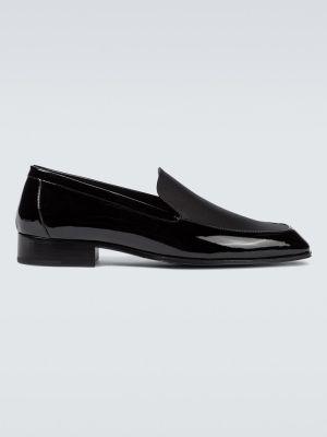 Loafers, czarny Saint Laurent