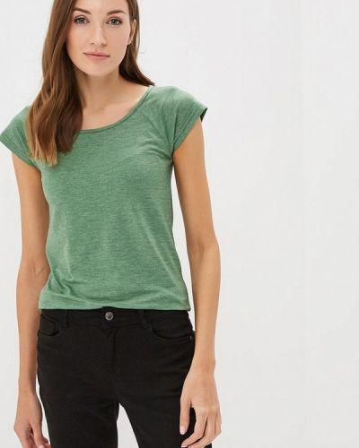 Зеленая футболка домашняя Лори
