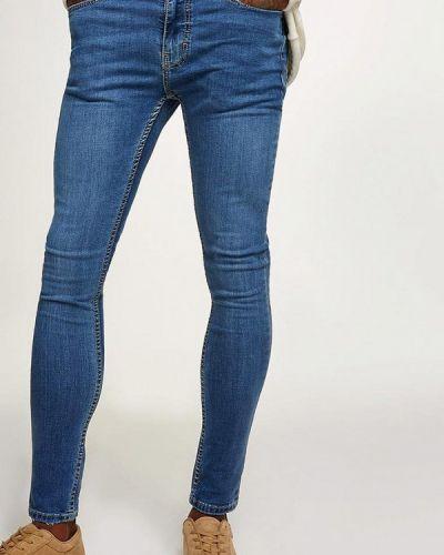 Синие джинсы Topman