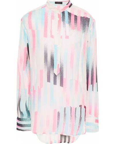 Koszula z jedwabiu - różowa Rag & Bone