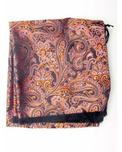 Розовый шарф итальянский Gallieni