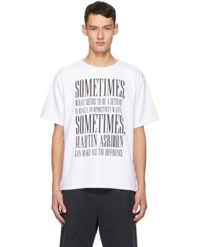 Czarny t-shirt krótki rękaw Martin Asbjorn