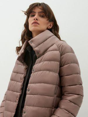 Бежевая куртка из полиэстера Zarina