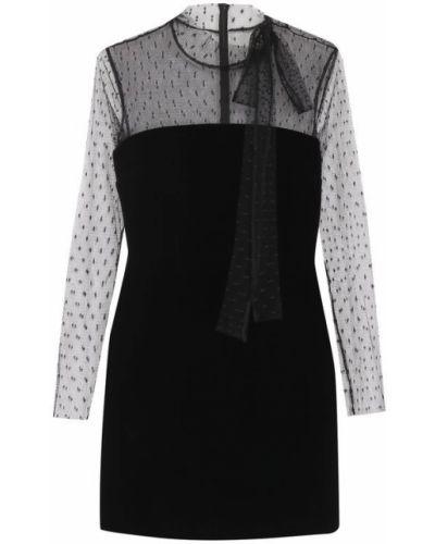 Черное платье мини Redvalentino