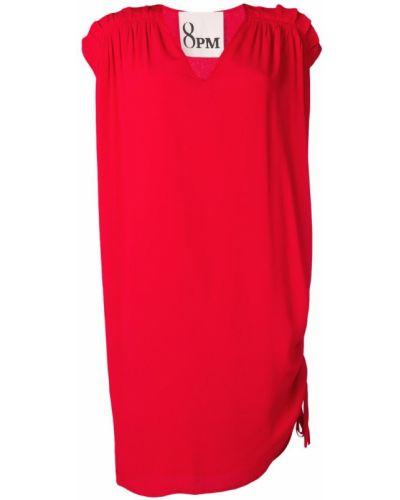 Платье с V-образным вырезом трапеция 8pm