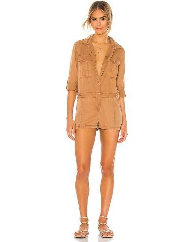 Ромпер - коричневый Yfb Clothing