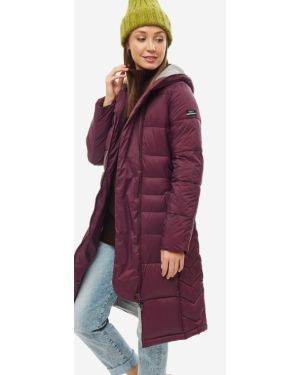 Зимняя куртка с капюшоном длинная Roxy