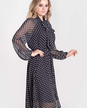 Платье в горошек на торжество Filigrana