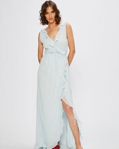 Платье макси однотонное расклешенное Vila