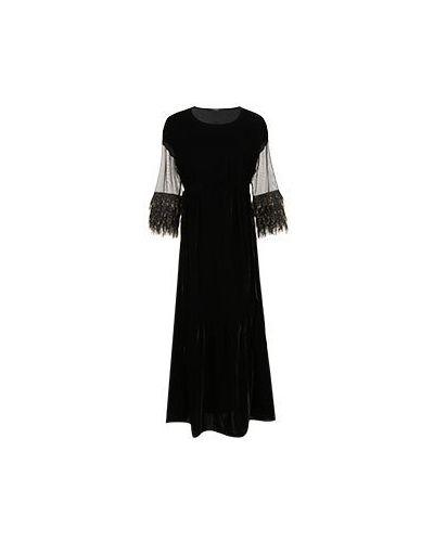 Черное вечернее платье Vuall