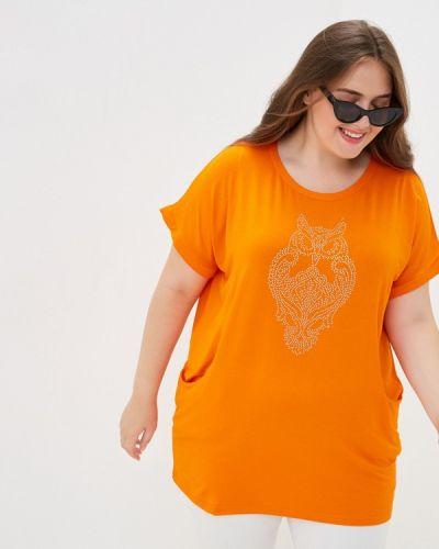 Оранжевая туника Olsi