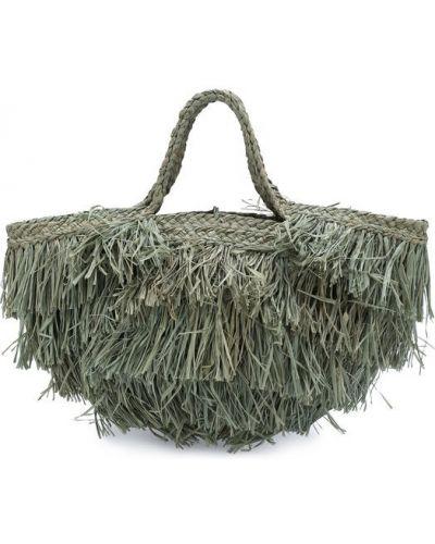Пляжная сумка с бахромой на руку Sans-arcidet