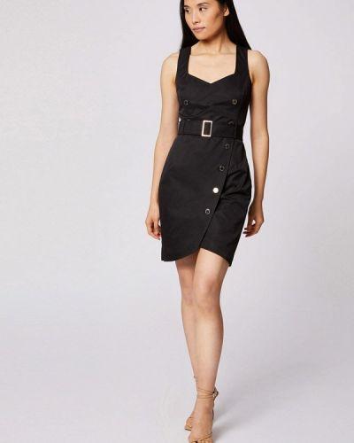 Черное платье-футляр Morgan