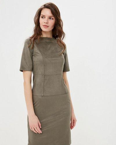 Платье зеленый хаки Mari Vera