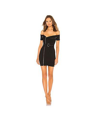 Платье с поясом с декольте на молнии By The Way.