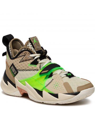 Sneakersy - beżowe Nike