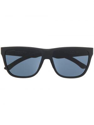 Черные солнцезащитные очки оверсайз Smith