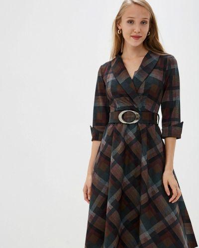 Платье прямое осеннее мадам т