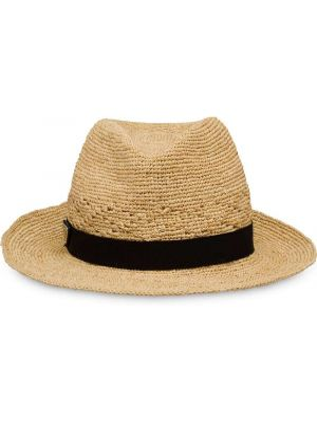 Czarny kapelusz Prada