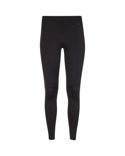 Компрессионные нейлоновые спортивные черные спортивные брюки Demix