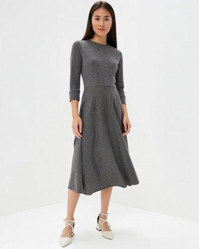 Платье серое осеннее Maison De La Robe