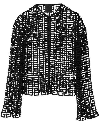 Czarny kardigan Givenchy