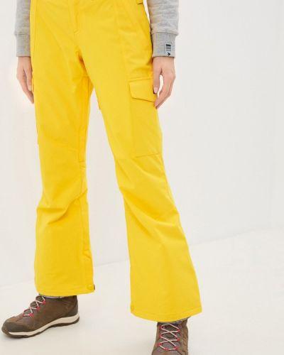 Желтые горнолыжные брюки Dc Shoes