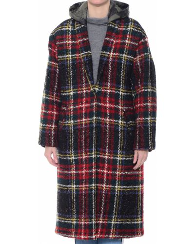 Акриловое пальто с капюшоном Forte Couture