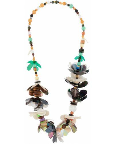 Коричневое ожерелье Marni