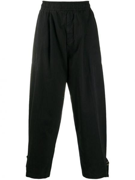Bezpłatne cięcie bawełna bawełna czarny spodnie Acne Studios