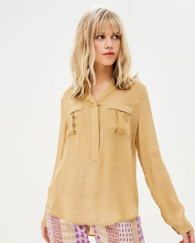 Блузка с длинным рукавом бежевый Sack's