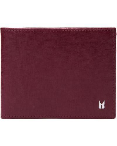 Красный кожаный кошелек Moreschi