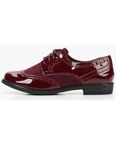 Кожаные ботинки на каблуке низкие Anesia