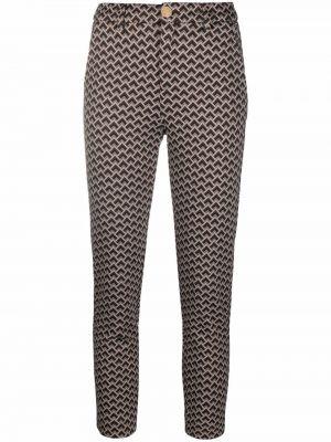 Укороченные брюки - коричневые Liu Jo