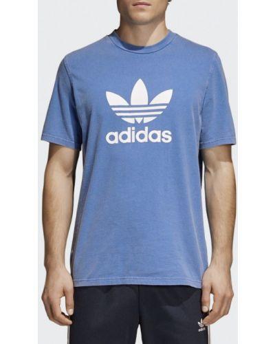 Синяя футболка Adidas Originals