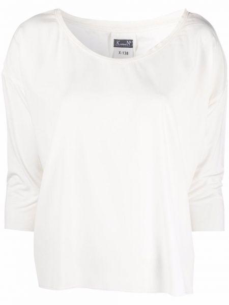 Белая хлопковая блузка Kristensen Du Nord