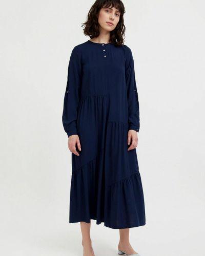 Свободное повседневное синее платье Finn Flare