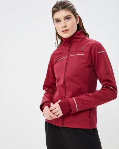 Куртка осенняя бордовый Asics