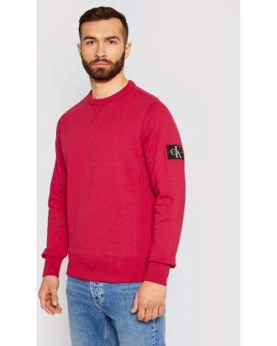 Bluza - różowa Calvin Klein Jeans
