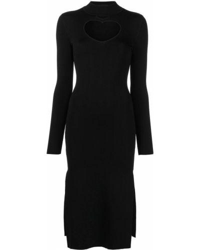 Платье миди - черное Staud