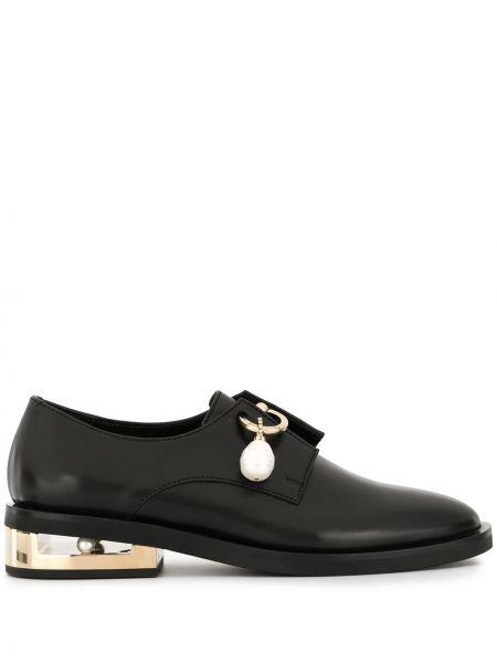 Buty brogsy skórzany czarny Coliac