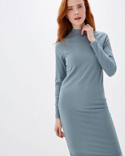 Платье бирюзовый вязаное Sela