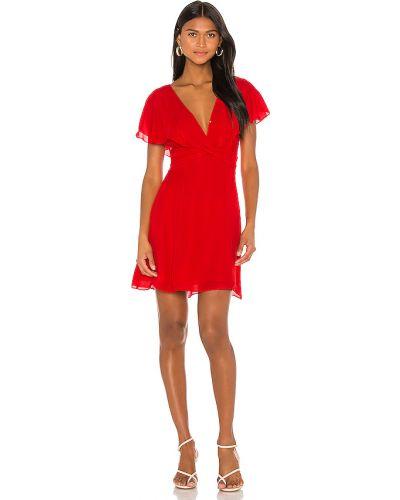 Деловое платье с подкладкой с оборками Parker