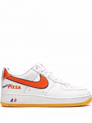 Белые кружевные кроссовки Nike