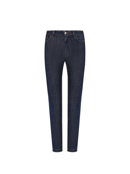 Укороченные джинсы синие эластичные Dolce & Gabbana